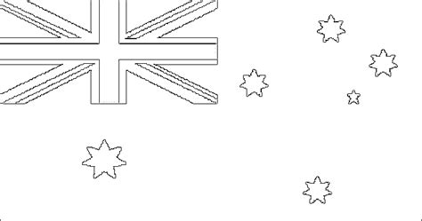 flagge australien zum ausmalen fahne australien als