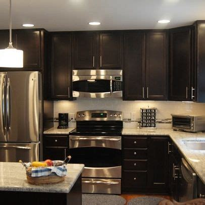 toffee colored kitchen cabinets chocolate cabinets design pictures remodel decor and 6273