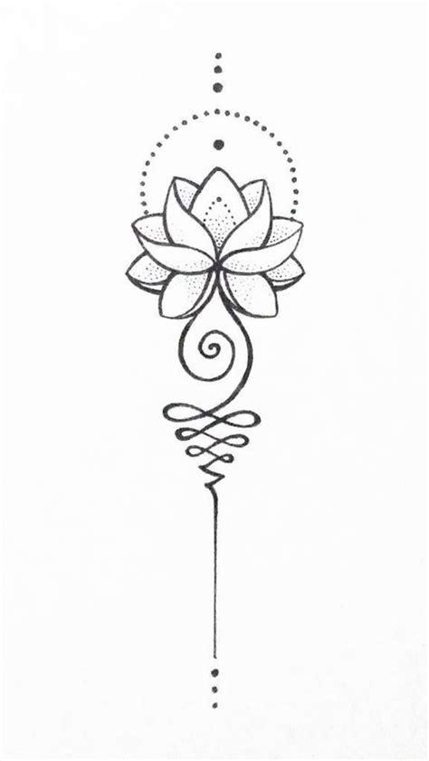 Unalome lotus - #lotus #unalome | Unalome tattoo, Diy