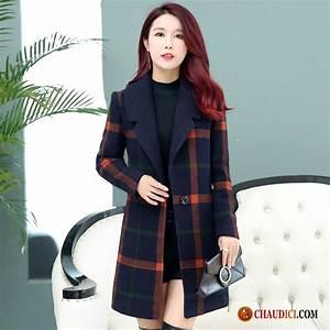 manteau chaud femme hiver palegoldenrod race tissu de With manteau a carreau femme