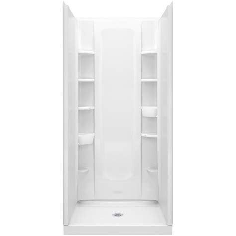 36 Shower Stall - sterling 34 in x 36 in x 72 1 2 in 4 shower stall