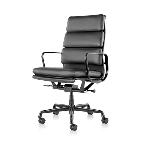 eames soft pad executive chair with pneumatic castors