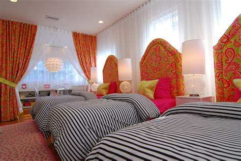 dazzling paisley curtains  bedroom transitional
