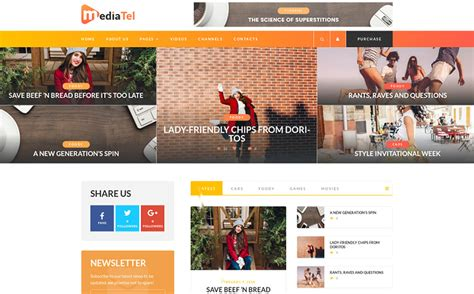 News Aggregator Template by Grab 15 Freshest Templates Of This With
