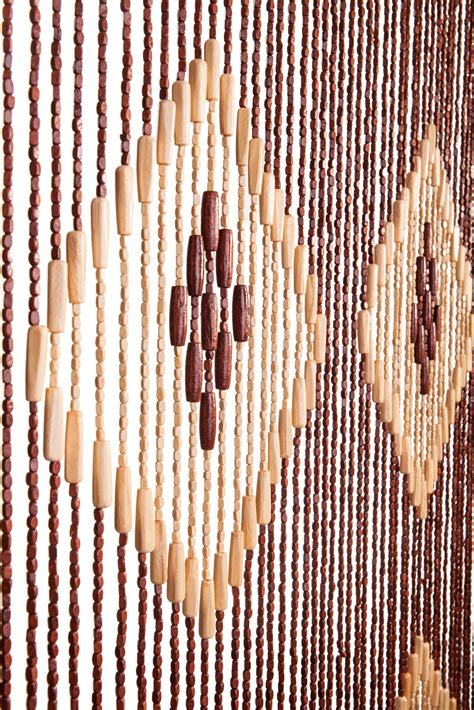 wooden beaded curtains 70 s hanging door beaded curtains 52 strands