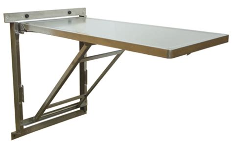 wall mounted folding dining table designs wall mount stainless steel veterinary tables fold up