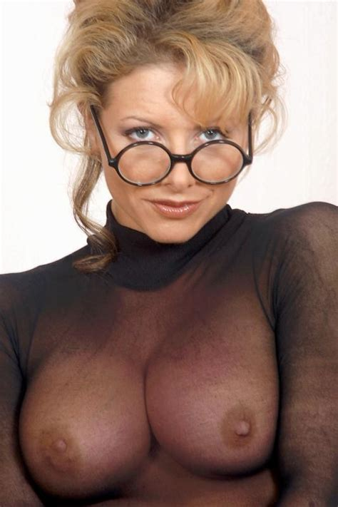 Blonde Milf Glasses Handjob