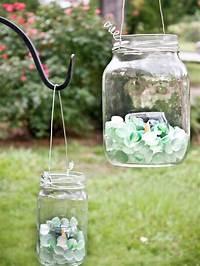 mason jar lantern Create Glass Lanterns for the Backyard | HGTV
