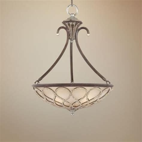 tuscan elegance collection 21 quot wide pendant light foyer