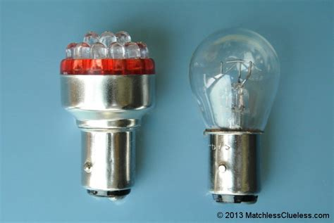 6v bright led stop and light matchless