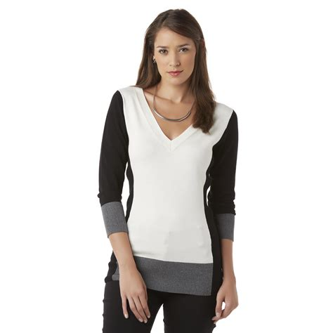 Metaphor Womens Sweater Colorblock