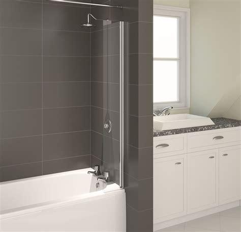 bathtub splash guard glass aqualux aqua4 splash guard bath screen nationwide bathrooms