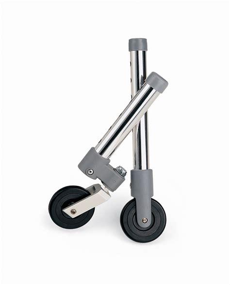 walker accessories medline zoom wheels ambercity
