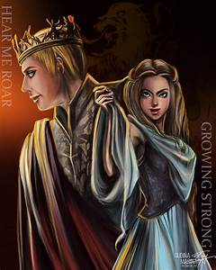 Joffrey Baratheon and Margaery Tyrell - FanART by MsRiin ...