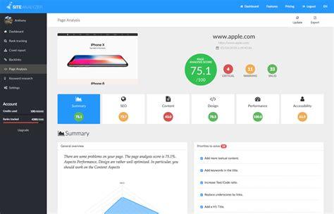 Seo Analysis by Website Analysis And Seo Optimizer Site Analyzer