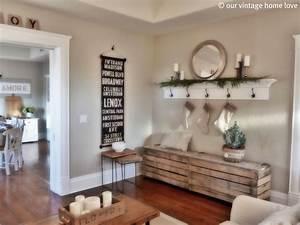 our vintage home loveChristmas Mantel/Ledge Ideas