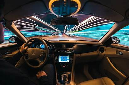 Interior Night Trails Wallpapers Backgrounds