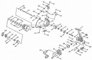 Pflueger Ec30 Parts List And Diagram   Ereplacementparts Com