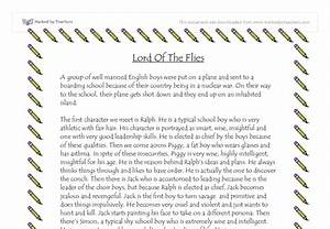 Lord of the flies essay cultural autobiography essay the lord of the