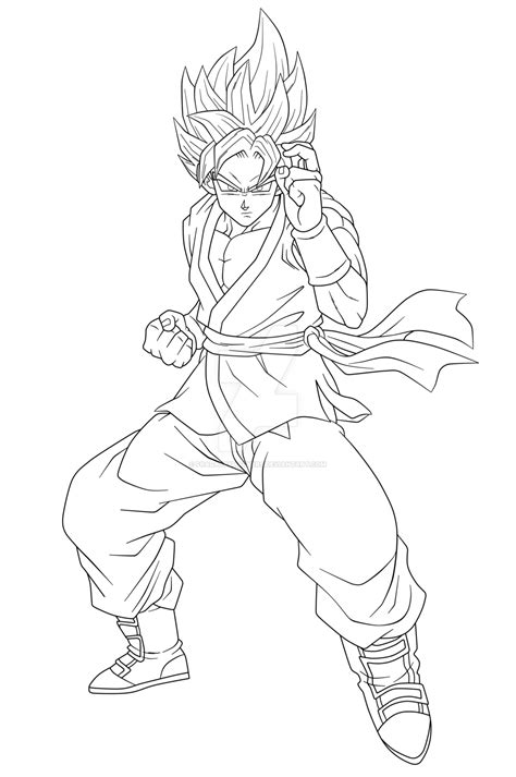Goku Kleurplaat by Frieza Ssgss Goku Coloring Pages Coloring Pages