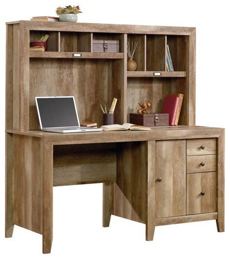 oak desk with hutch dakota pass computer desk with hutch craftsman oak