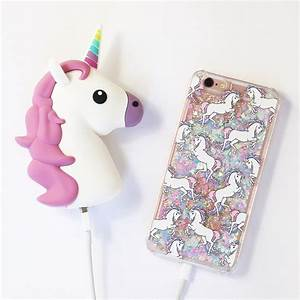 Pink Unicorn Power Bank Charger – Decorus Cases