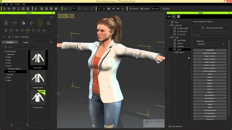 reallusion iclone character creator   resource pack