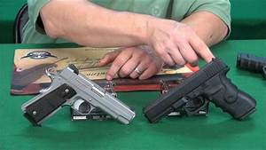 Glock vs 1911 SHOOTOUT ! weaponseducation - YouTube