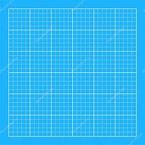 Blueprint background with white grid — Stock Vector ...