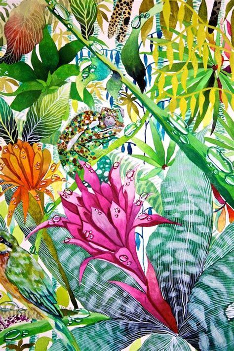 jungle imaginings close  iv kate morgan artist