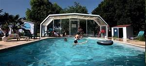 chambres d39hotes gites piscine chauffee couverte bord de With vacances avec piscine couverte chauffee