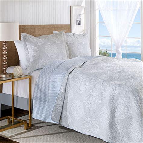 laura ashley coral coast gray quilt set  beddingstylecom