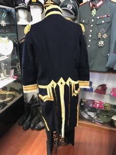 replica  royal navy captains frock coat  cocked hat