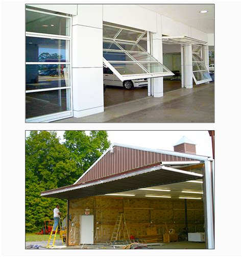 industrial automatic hydraulic steel vertical bi folding hangar door buy automatic hydraulic
