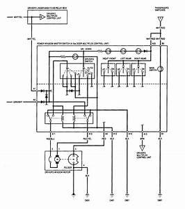Power Window Wiring Diagram For A 2001 Pontiac Montana