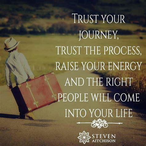 trust  journey trust  process raise  energy