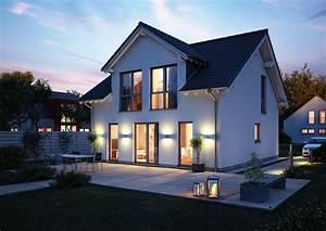 Haus Mit Satteldach : familienhaus komfort von kern haus w hlen sie ihre gaube ~ Watch28wear.com Haus und Dekorationen