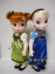 Toddler Dolls Anna and Elsa