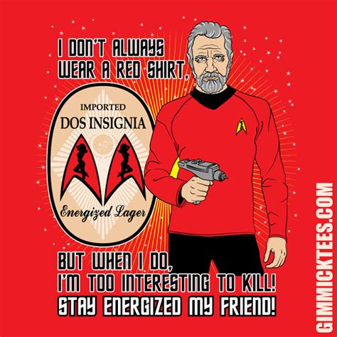 The Most Interesting Redshirts In The Universe  Trek Mate