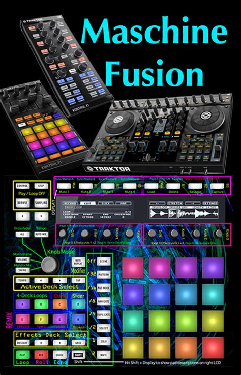 Traktor Maschine Mikro Templates by Traktor Bible Maschine Fusion Full Control Remix