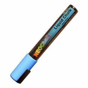 Blue Neon Liquid Chalk Marker