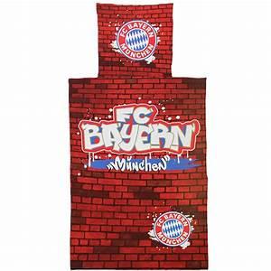 Fc Bayern Bettwäsche : fc bayern m nchen bettw sche graffiti ~ Watch28wear.com Haus und Dekorationen