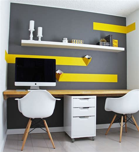 ikea bureau travail energize your workspace 30 home offices with yellow radiance