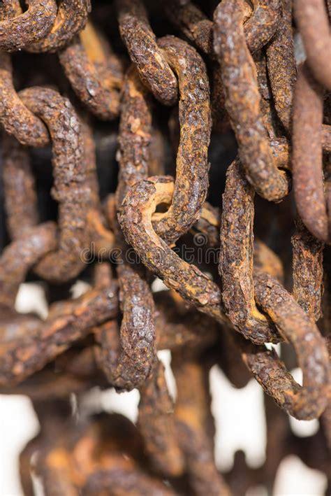 flakes rust arrugginita catena rusty flocken vecchia sulla roestige chain close fine della corrosion oben ruggine fiocchi korrosions barra metallo