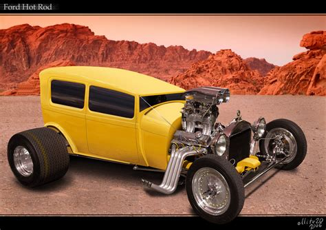 custom ford hot rod by ollite20 on deviantart