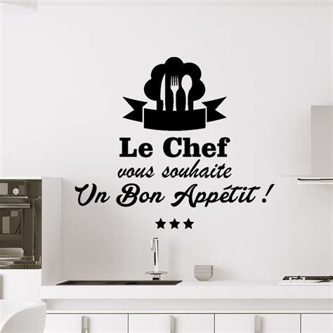 le chef cuisine sticker cuisine le chef vous souhaite un bon appetit