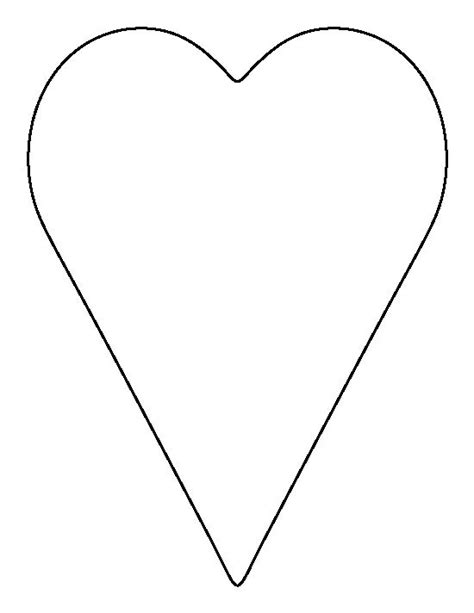 heart outline  ideas  heart template  surprise