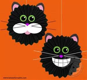 Decorazioni halloween gatto