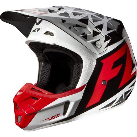 clearance motocross helmets clearance sale fox 2014 v2 given helmet red white