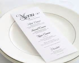 wedding menu alluring script wedding menus wedding menus by shine